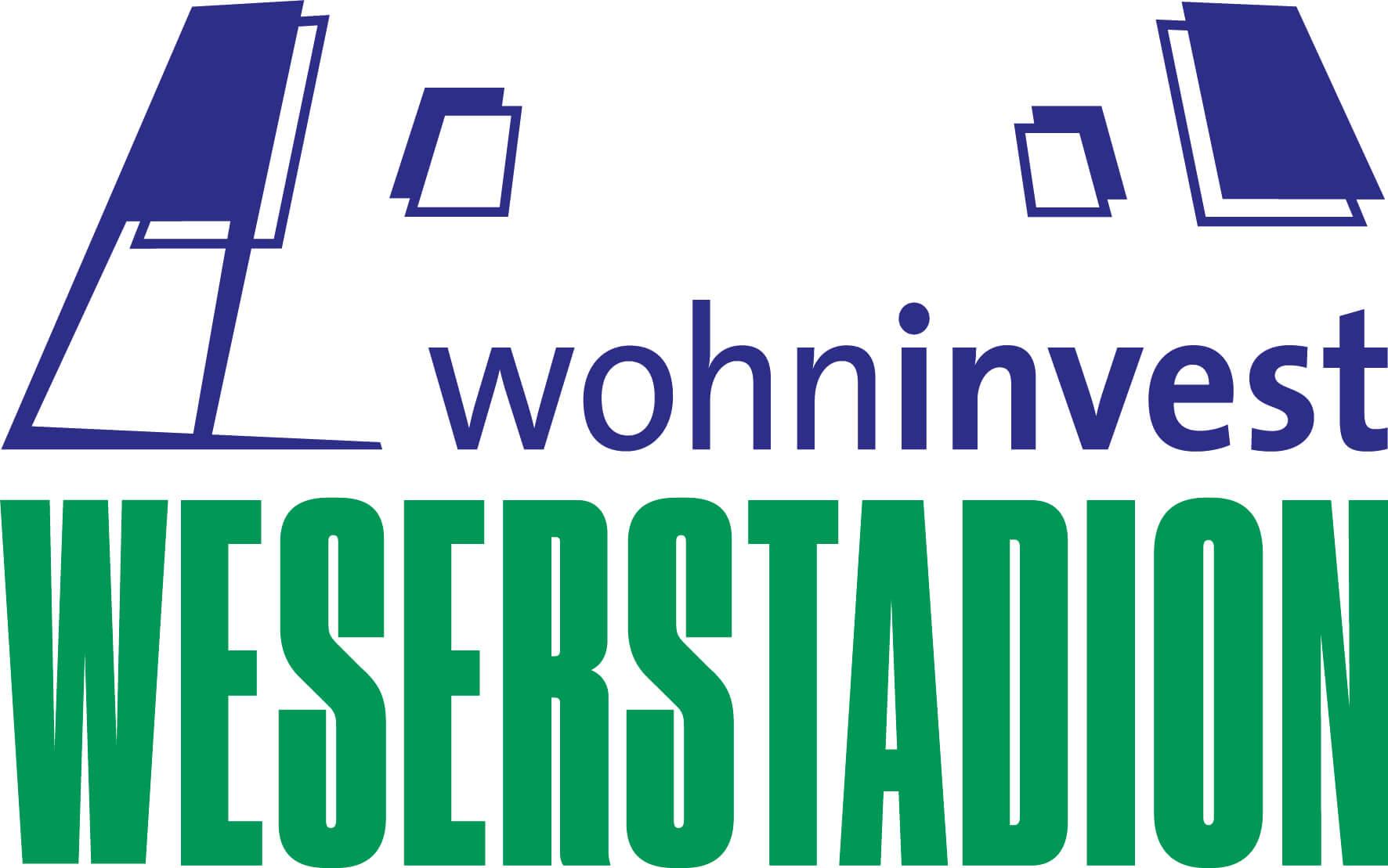 wohninvest Weserstadion Logo