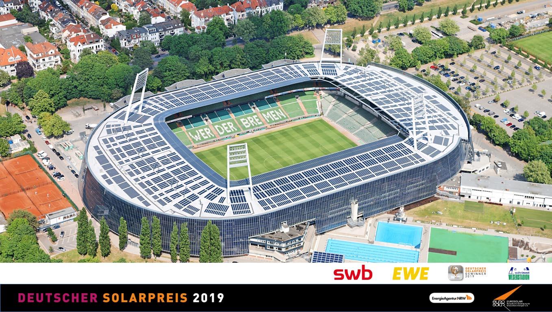 wohninvest Weserstadion - Deutscher Solarpreis
